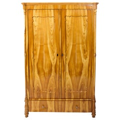 19th Century Louis Philippe Cherry Wardrobe