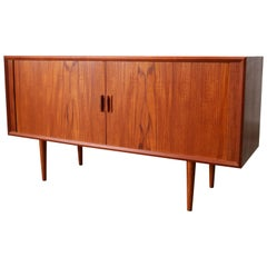 Small Rare Danish Sideboard / Credenza by Svend Aage Madsen for Faarup 1950 Teak