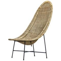"Lounge Chair ""Stora Kraal"" by Kerstin Hörlin-Holmquist for Nordiska Kompaniet"