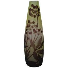 Emile Gallé Art Nouveau Vase