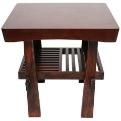 Nakashima Style Side Table