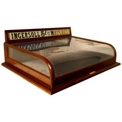 Ingersoll Jewelers Shop Watch Shop Display Cabinet