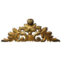 19th Century French Giltwood Decorative Element