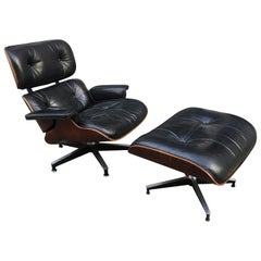 Charles Eames for Herman Miller Lounge Chair in Rosewood