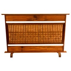 Mid Century Modern Japanese Small Screen Divider in the Style of Nakashima