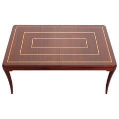 Tommi Parzinger Originals Dining Table with Two Leaves, 1960s