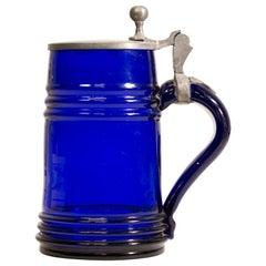 Cobalt Blue Stein