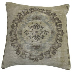 White Rug Pillow