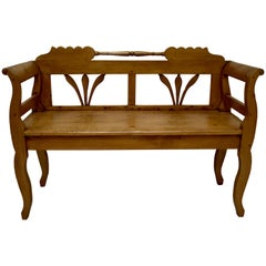 Pine Bench or Settle