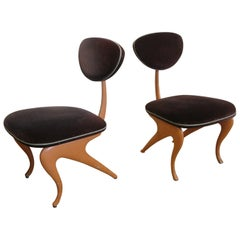 Pair of Lounge Chairs by Jordan Mozer