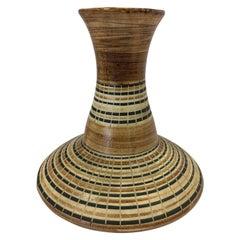 Harsa Studio Israel Mid-Century Modern Ceramic Vase Urn