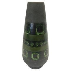 Deutsche Mid-Century Modern Vase Urne Keramik