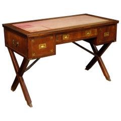 20th Century Mahogany Wood English Writing Desk, 1960