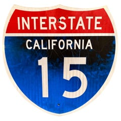 California Interstate 15 Freeway Sign