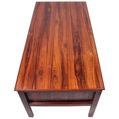 Midcentury Danish Rosewood Desk, 1950s