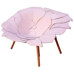 Armchairs Design Campana Brothers Pink Leather Edra Production