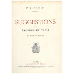 Suggestions by E. A. Seguy, 14 Pochoir Plates