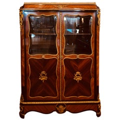 19th Century Louis XV Rosewood Cabinet