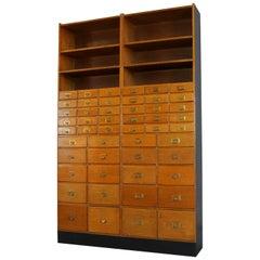 Oak Haberdashery Cabinet, circa 1930s
