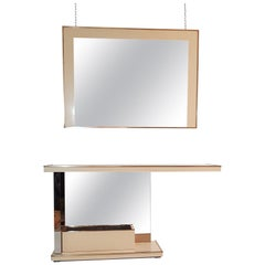 Console and Mirror by Nazaret, Italy