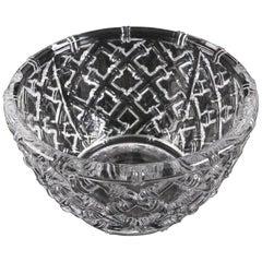 Tiffany Crystal Bamboo Bowl
