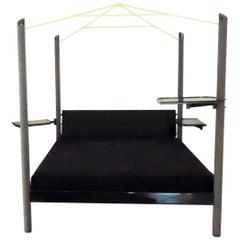 1989 Contemporary Canopy Bed Glossy Lacquer Comolli-Poli for Sormani, Italy