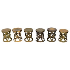 Selection of Brass Stools