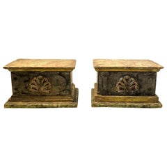 18th Century Carved Wood Decorative Shelf