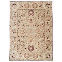 Floral Agra Style Egyptian Rug