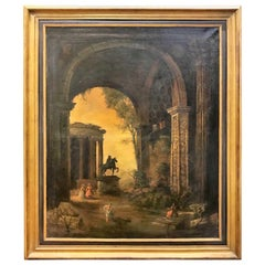 Hubert Robert, 18th Century French Oil Painting, Attribution