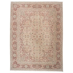 Red and Beige Sivas Rug