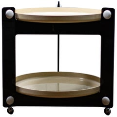 Luigi Massoni Midcentury Drinks Trolley for Guzzini, 1970