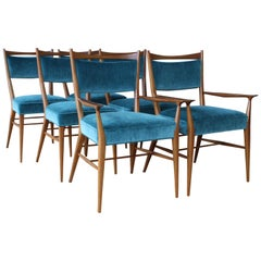 Set of Six Dining Chairs by Paul McCobb for Directional, 1950s