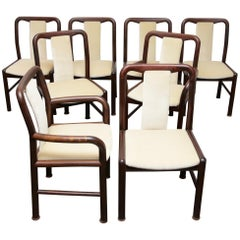 Niels Moller for Boltinge Danish Modern Rosewood Dining Chairs