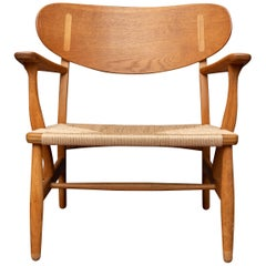 Hans Wegner Lounge Chair CH 22