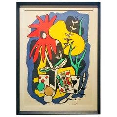 1969s Fernand Leger Lithograph 481/500