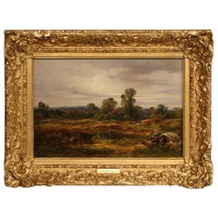 Oil on Canvas by George Burrell Willcock R.A. 1811-1852
