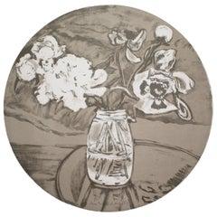 Jane Freilicher Untitled from Self-Portrait in a Convex Mirror