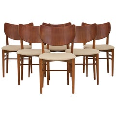 Set of Six Dining Chairs by Nils & Eva Koppel