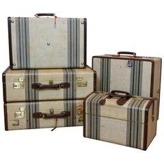 Rare and Complete, Italian Manufactured Travel Set, circa 1950