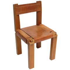 Chair S11 by Pierre Chapo, France