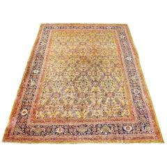Antique Sultanabad Carpet, circa 1900