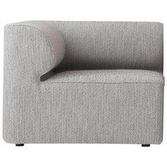 Eave Modular Sofa, Corner, Grey Fabric