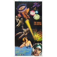 "Three Sheet Original ""The War of The Planets"" Movie Poster"