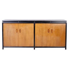 Midcentury Baker Four Door Cabinet or Credenza