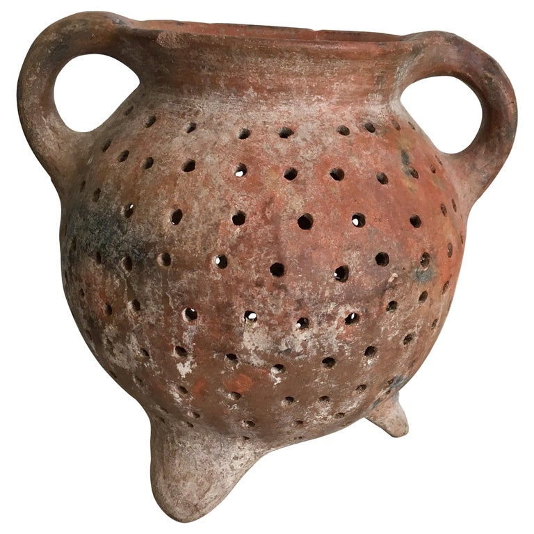 Terracotta Pot from Mexico, 1970s For Sale