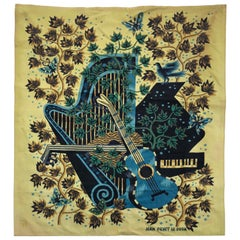 Signed Jean Picart Le Doux Tapestry
