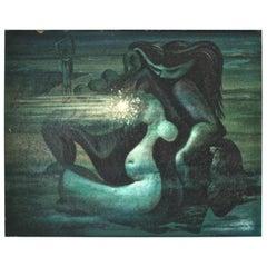 Horace Armistead American Surrealist 1941 Painting