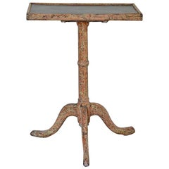Early 19th Century Antique Table with Slate Games Top