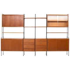 Omnia Shelf System in Teak by Ernst Dieter Hilker, 1960s
